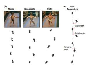 влияют ли подгузники на походку ребенка