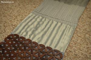 массажный коврик декор пуговицы