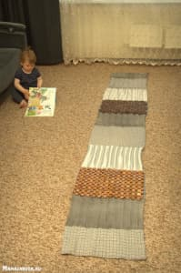 массажный коврик своими руками