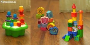 кубики и мозайки