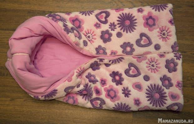 одеяло трансформер - не завернутый карман